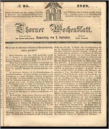 Thorner Wochenblatt 1848, No. 95