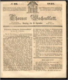 Thorner Wochenblatt 1848, No. 97 + Beilage