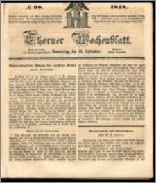 Thorner Wochenblatt 1848, No. 98 + Beilage