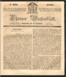 Thorner Wochenblatt 1848, No. 101