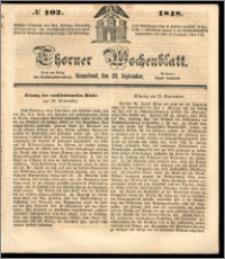 Thorner Wochenblatt 1848, No. 102 + Beilage