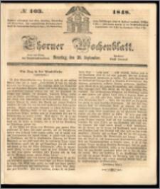 Thorner Wochenblatt 1848, No. 103