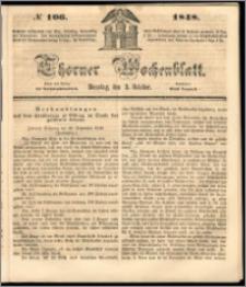 Thorner Wochenblatt 1848, No. 106 + Beilage