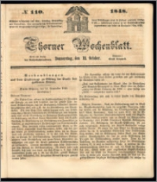 Thorner Wochenblatt 1848, No. 110