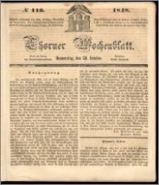 Thorner Wochenblatt 1848, No. 116