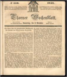 Thorner Wochenblatt 1848, No. 119