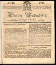 Thorner Wochenblatt 1848, No. 123 + Beilage