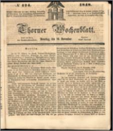 Thorner Wochenblatt 1848, No. 124 + Beilage