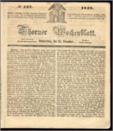 Thorner Wochenblatt 1848, No. 137 + Beilage