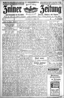 Zniner Zeitung 1913.01.04 R. 26 nr 2