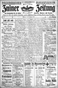 Zniner Zeitung 1913.01.08 R. 26 nr 3