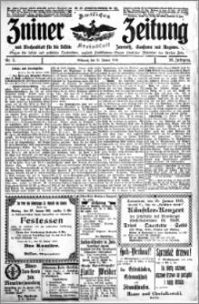 Zniner Zeitung 1913.01.15 R. 26 nr 5