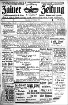 Zniner Zeitung 1913.01.18 R. 26 nr 6