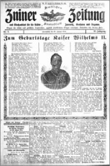 Zniner Zeitung 1913.01.25 R. 26 nr 8