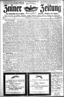 Zniner Zeitung 1913.01.29 R. 26 nr 9