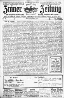 Zniner Zeitung 1913.04.09 R. 26 nr 29