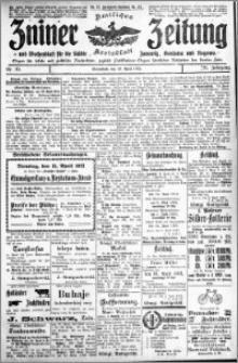 Zniner Zeitung 1913.04.12 R. 26 nr 30