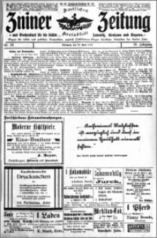 Zniner Zeitung 1913.04.23 R. 26 nr 33