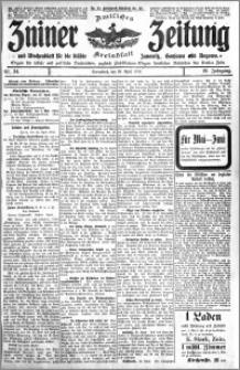 Zniner Zeitung 1913.04.26 R. 26 nr 34