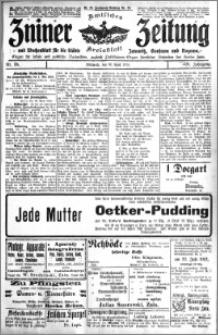 Zniner Zeitung 1913.04.30 R. 26 nr 35