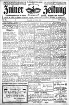 Zniner Zeitung 1913.05.10 R. 26 nr 38