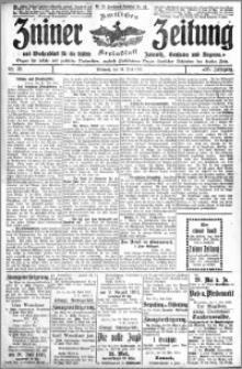 Zniner Zeitung 1913.05.14 R. 26 nr 39