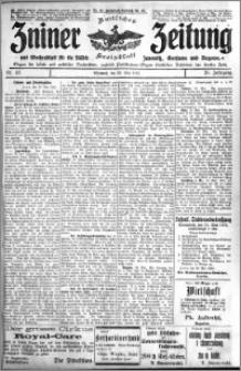 Zniner Zeitung 1913.05.28 R. 26 nr 43