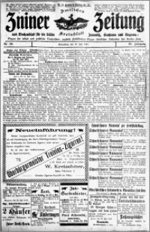 Zniner Zeitung 1913.07.19 R. 26 nr 58