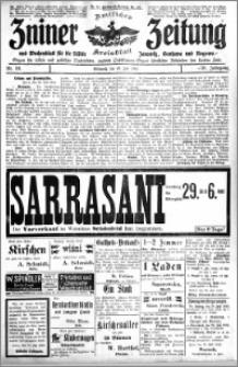 Zniner Zeitung 1913.07.23 R. 26 nr 59
