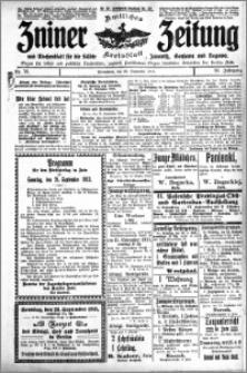 Zniner Zeitung 1913.09.20 R. 26 nr 76