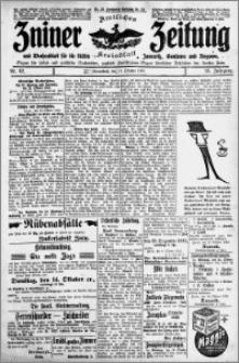 Zniner Zeitung 1913.10.11 R. 26 nr 82