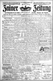 Zniner Zeitung 1913.10.29 R. 26 nr 87