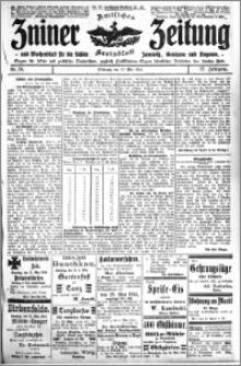 Zniner Zeitung 1914.05.13 R. 27 nr 38