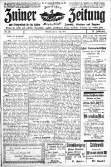Zniner Zeitung 1914.07.22 R. 27 nr 58