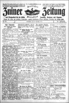Zniner Zeitung 1914.11.14 R. 27 nr 91