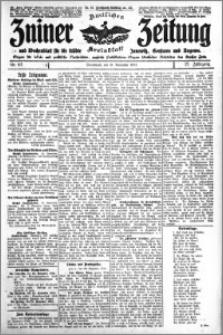 Zniner Zeitung 1914.11.21 R. 27 nr 93