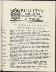 Biuletyn Biblioteki Uniwersyteckiej w Wilnie 1936/1937 nr 12