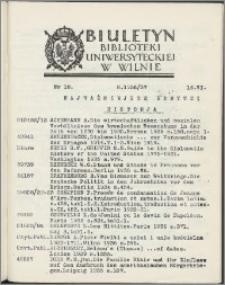 Biuletyn Biblioteki Uniwersyteckiej w Wilnie 1936/1937 nr 18