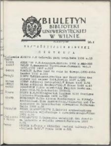Biuletyn Biblioteki Uniwersyteckiej w Wilnie 1937/1938 nr 9