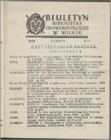 Biuletyn Biblioteki Uniwersyteckiej w Wilnie 1938/1939 nr 13