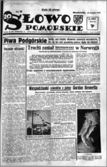 Słowo Pomorskie 1936.08.30 R.16 nr 201
