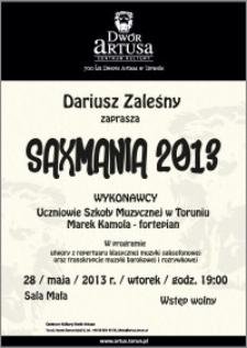 Saxmania 2013 : 28 maja 2013 r.