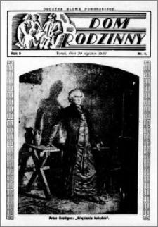 Dom Rodzinny : dodatek tygodniowy Słowa Pomorskiego, 1933.01.20 R. 9 nr 4