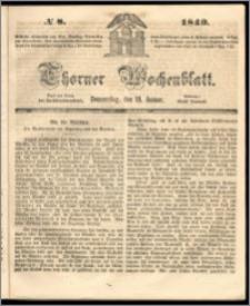 Thorner Wochenblatt 1849, No. 8