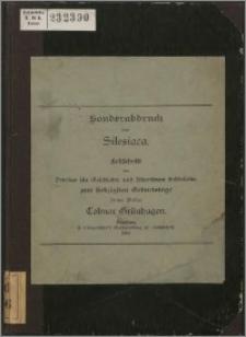 Schlesisches aus dem Marienberger Treßlerbuch von 1400-1409