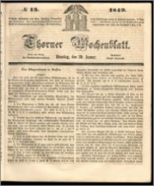 Thorner Wochenblatt 1849, No. 13