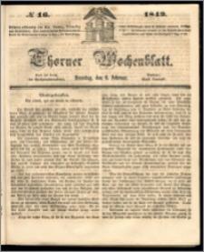 Thorner Wochenblatt 1849, No. 16