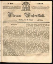 Thorner Wochenblatt 1849, No. 19