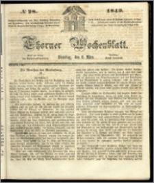 Thorner Wochenblatt 1849, No. 28