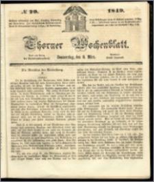 Thorner Wochenblatt 1849, No. 29